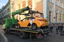 Moscow Police Say Seven Hurt as Taxi Ploughs Into FIFA World Cup Crowd