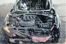 Samsung Smartphones Catch Fire; Blow up Car in Flames