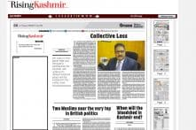 'It Feels Like Our Ink Has Dried': Major Newspapers in Kashmir Carry Blank Editorials