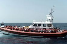 Rescue Ships Lands up in Spain as Migrant Debate Roils Europe