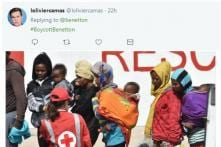 Benetton Used A Picture of Migrants To Sell Sweaters. Twitter Isn't Having It