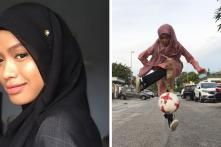 Yes, Ronaldo is Awesome. But You Have to Watch This Hijabi Teenager Storming the Internet With her Football Skills