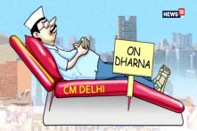 Breaking Toons: While RaGa Hosts Iftar Party, Kejriwal and Co Stage 'Sofa Dharna'