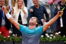 French Open: Cecchinato Stuns Djokovic, Becomes First Italian in 40 Years to Reach Semis