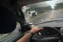 US Police Officer Fired After Video Shows Him Hitting Fleeing Suspect With Patrol Car