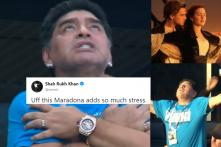 Diego Maradona Had the Time of His Life During Argentina's Must-Win World Cup Match