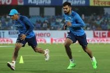 Virat Kohli Looks Comfortable During Yo-Yo Test at NCA; MS Dhoni Joins Skipper