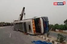 17 people killed and 20 injured in UP Bus Accident