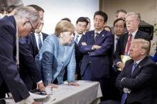 Angela Merkel Wins Photo Duel at G7, Sums Up Donald Trump's Isolation in Instagram Snap