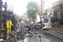 30 Workers Stepped Out for Lunch, Escaped Death When Plane Crashed Into Ghatkopar Building