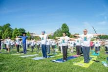 Texans Ready to Bend and Twist on International Yoga Day