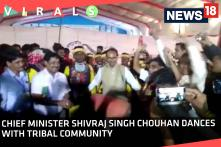Chief Minister Shivraj Singh Chouhan Dances With Tribal Community