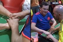 Blind Fan Experiences the Thrill of FIFA WC 2018