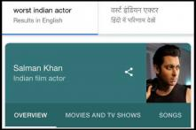 Why Does Google Think Salman Khan is the 'Worst Bollywood Actor'?