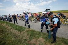 Cycling: Tour de France Interrupted by Farmers' Protest