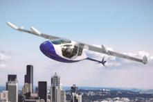 Rolls-Royce and Aston Martin Electric Hybrid Flying Taxi with Vertical Take-off and Landing