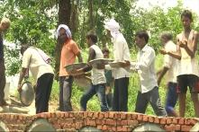Watch: Villagers in Hapur Build Bridge