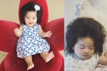 Baby Chanco from Japan Has Become an Overnight Internet Sensation, Thanks to Her Mop of Hair