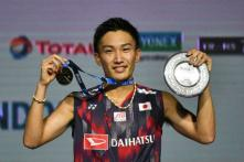Momota Hopes for Rematch With 'Big Hero' Lee