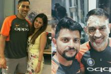 MS Dhoni Rings in 37th Birthday With Sakshi, and Team India Mates
