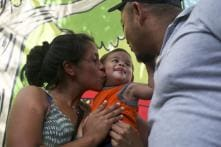 'Suffering' Ends as Honduran Baby Separated at Texas Border Back in Parents' Arms