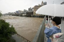 Hundreds of Thousands Evacuated in Japan as 'Historic' Rain Falls; Four Dead