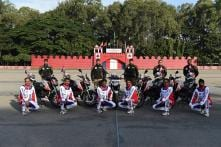 Kargil Vijay Diwas 2018 - TVS and Military Police Flags Motorcycle Expedition to Dras