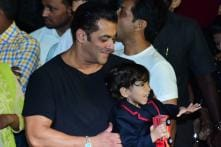 Nephew Ahil Pulls Salman Khan's Cheeks in this Adorable Pic Shared by Arpita Khan