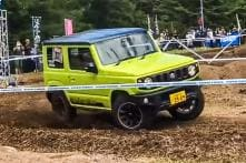 Suzuki Jimny Tackles Off-Road Like a Boss, Reminiscent of Maruti Gypsy and Jeep – Watch Video