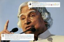 'You Will be Remembered Forever, Missile Man': Twitter is Paying Homage to Dr. APJ Abdul Kalam