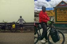 Think of This Man Before You Ignite Your Car Engine. He Rode a Bicycle From Delhi to Leh