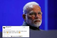 Someone on Twitter Just Asked PM Modi to Smile More. He Agreed.