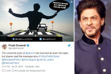 Shah Rukh Khan Thanks Assam Police For Using His 'Signature Pose' For Road Safety