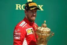 Vettel Wrecks Hamilton's Home Party With Stunning Ferrari Win