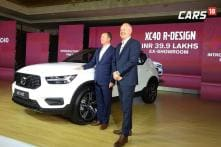 Volvo XC40 SUV Launched in India for Rs 39.9 Lakh, Competes Against BMW X1, Audi Q3
