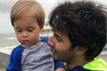 This Photo of Varun Dhawan with Karan Johar's Son Yash is Too Cute for Words; See Pics