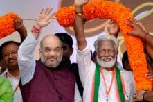 Amit Shah in Kerala Today for 2019 Planning Amid Factionalism and Hunt for New Head