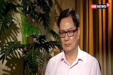 'Modi Govt Empowering Muslims and Dalits' says Kiren Rijiju, MoS Home Affairs
