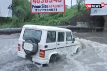 M.P Government's Car Got Stuck in Water