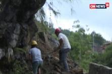 Man Stuck Under Debris Saved