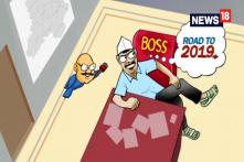 Breaking Toons: Kejriwal Shows Who's the Boss