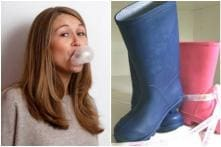 While India Struggles to Replace Plastic, UK Woman Is Making Sassy Boots Out of Recycled Bubble Gum