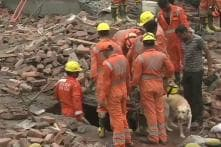 5-Storey Under-Construction Building Collapses in Ghaziabad, 1 Dead