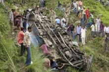1 Dead, 15 Injured as Bus Falls into Gorge in Himachal Pradesh