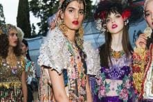 Model Dipti Sharma Embraces the Saree at Dolce & Gabbana Show in Italy; See Pics