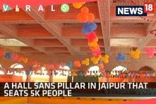 Watch: A Hall Sans Pillar in Jaipur that Seats 5k People