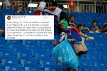 Japan Fans Stay Back to Clean Stadium Even After Being Knocked Out of FIFA World Cup