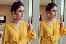 Kareena Kapoor Is Positively Glowing In This Marigold Yellow Outfit; See Pictures
