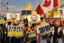 Pro-Khalistan Banners Put Up at Nankana Sahib in Pakistan on Gurpurab