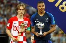 FIFA World Cup 2018: Luka Modric Wins Golden Ball, Mbappe Young Player Award